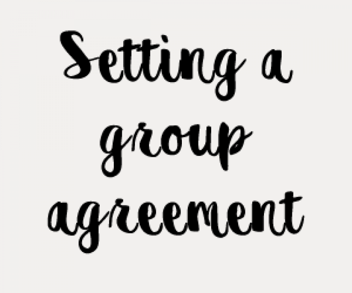 Setting a group agreement